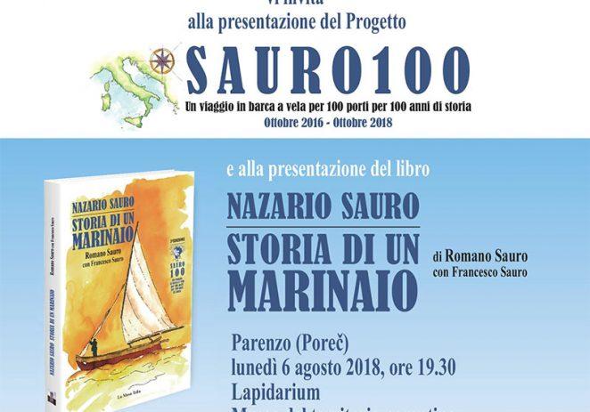 """Predstavljanje projekta """"SAURO 100"""" u Poreču u ponedjeljak, 6. kolovoza"""