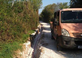 Gradi se cesta Garbina-Valkarin