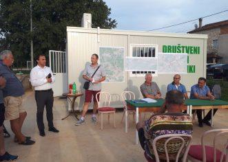 Mještanima naselja Veleniki prezentirani predstojeći radovi na izgradnji kanalizacijskog sustava