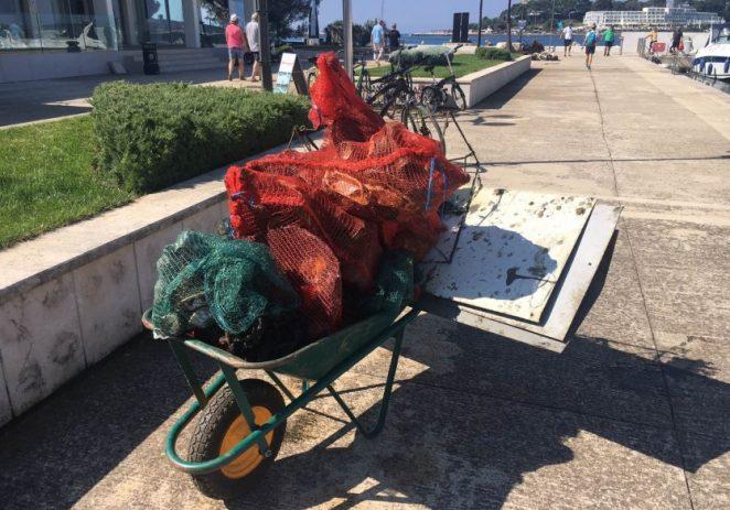 Prošlog vikenda očišćeno podmorje Marine Poreč