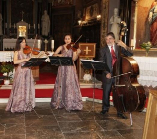 Večeras u Funtani Koncert Trio Veljaka  s početkom u 20 sati