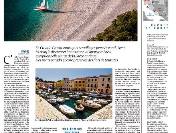 Ljepote kvarnerskih otoka i Istre u francuskom Le Mondeu