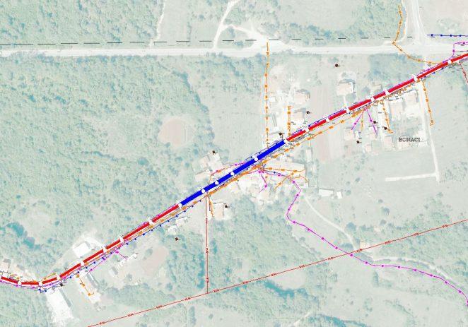 Nastavljaju se radovi na izgradnji glavnog kanalizacijskog kolektora Baderna-Žbandaj u naselju Bonaci