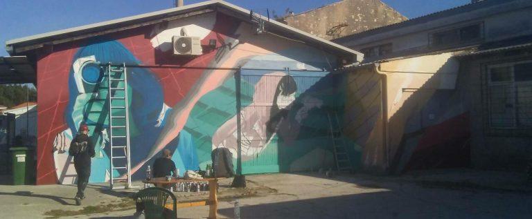 Radovi u tijeku_ novi mural u Poreču by Lonac i Chez 186