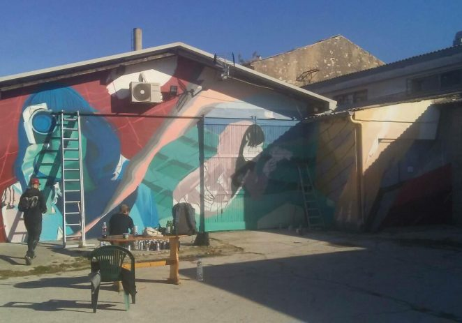 Poreč postaje bogatiji za mural s potpisom poznatog Lonca