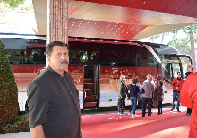 Danijelu Španjolu, portiru hotela Melia Coral for Plava Laguna nagrada Čovjek ključ uspjeha