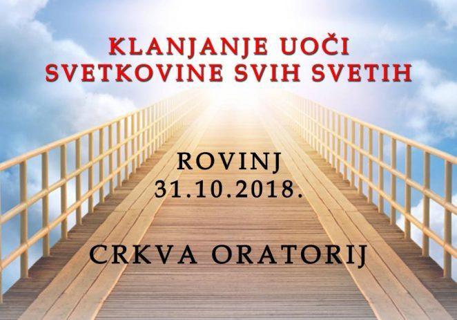 Najava svetkovine Svih svetih i drugih sadržaja iz Porečke i Pulske biskupije