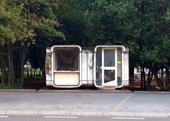 Nova kućica i sanitarni čvor za porečko taksi stajalište
