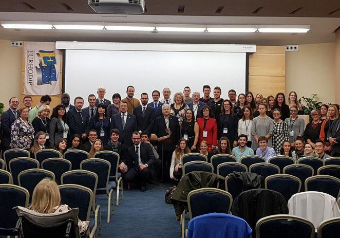 """25. međunarodna konferencija EURHODIP-a """"Resposnible Education for Responsible Tourism"""" u organizaciji Fakulteta za interdisciplinarne, talijanske i kulturološke studije, Sveučilišta Jurja Dobrile u Puli svečano otvorena 3. studenog u Poreču"""