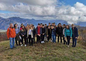 Učenici talijanske osnovne škole Bernardo Parentin posjetili Kobarid