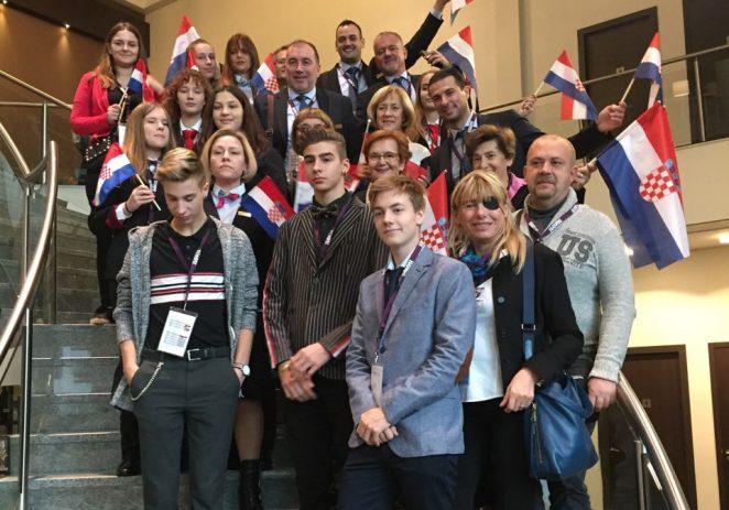 Predstavnici Turističko-ugostiteljske škole Antona Štifanića Poreč na 31. godišnjim susretima i natjecanjima AEHT-a u Leeuwardenu