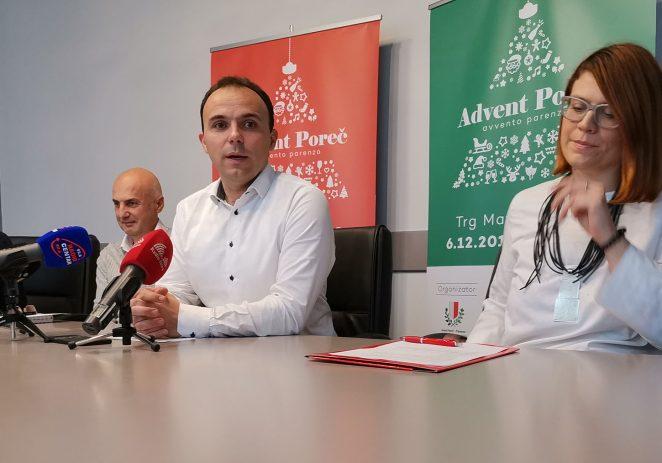 Predstavljen najbogatiji blagdanski program u Istri ''Advent Poreč''