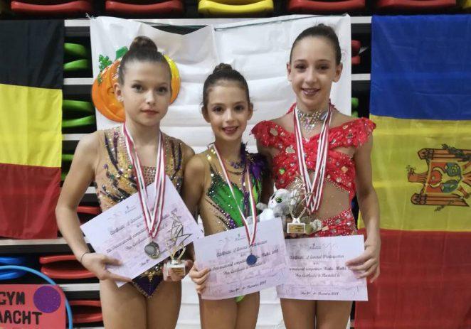 Sedam medalja za porečke ritmičarke sa međunarodnog turnira na Malti !