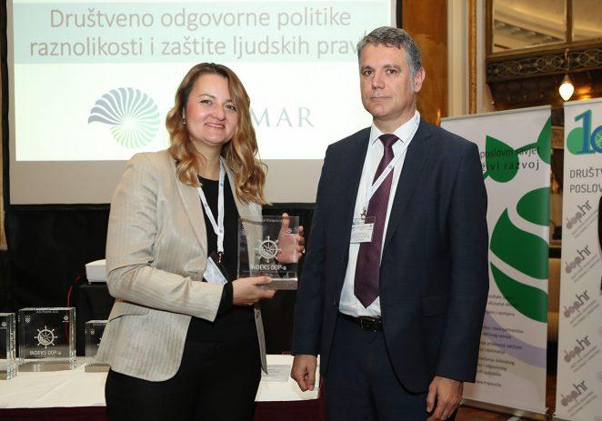 Valamar osvojio nagradu Indeksa DOP-a za područje politike raznolikosti i zaštite ljudskih prava