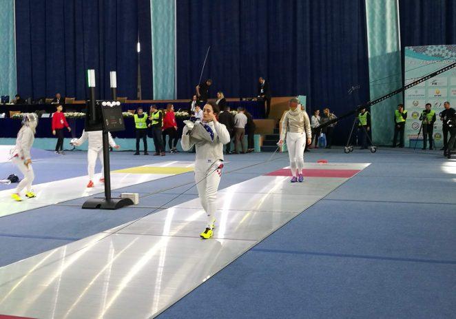 Hrvatska reprezentativka u sablji Zoe Marie Baldo nastupila je na svjetskom kupu u Taškentu