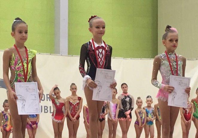 Ritmičarke Funtane i Vrsara s medaljom sa turnira u Ljubljani