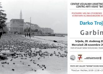 """Samostalna izložba fotografija Darka Trojanovića – """"Garbin '65"""" u CVU Batana u Rovinju"""