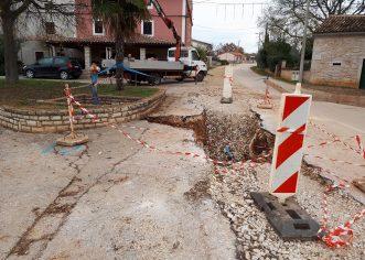 Širi se vodovodna mreža u porečkim naseljima Materada, Červar, Žbandaj i Ladrovići