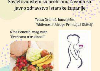 U Poreču druženje stručnjaka i trudnica za zdravlje mama i beba