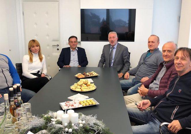 """Tradicionalno druženje u komunalnom poduzeću """"Usluga Poreč"""" s predstavnicima medija"""