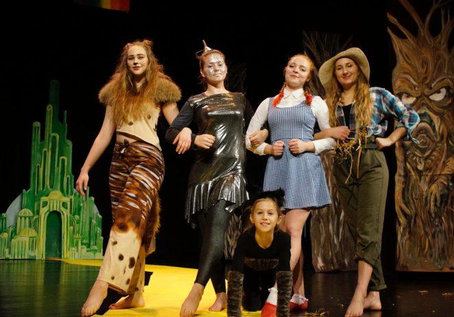 """Ne propustite plesnu predstvu """"Čarobnjak iz Oza"""" u izvedbi Studia za izvedbene umjetnosti MOT 08 u utorak, 18. prosinca"""