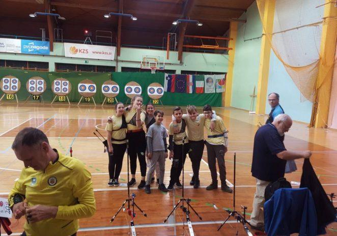 Streličari Poreča nastupili u Sloveniji