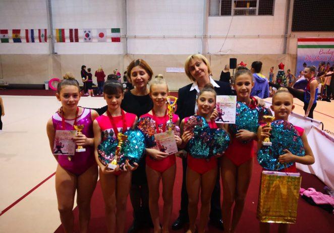 Nedavno osnovan klub ritmičke i estetske gimnastike Galatea iz Funtane – Vrsara osvaja brojne medalje na međunarodnim turnirima