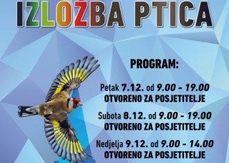 U dvorani Žatika od 7. do 9. prosinca održat će se izložba ptica i 41. Ornitološko prvenstvo Hrvatske