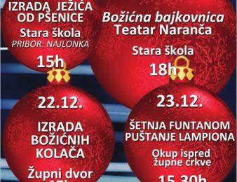 """Udruga za djecu i mlade Funtane """"Na izvorima prijateljstva"""" pripremila Božićni program za sve mještane Funtane"""