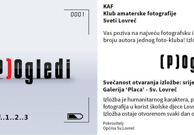 Godišnja izložba '(P)Ogledi' KAF Sv. Lovreč – najbrojnija klupska izložba u Hrvatskoj za 2018. godinu!