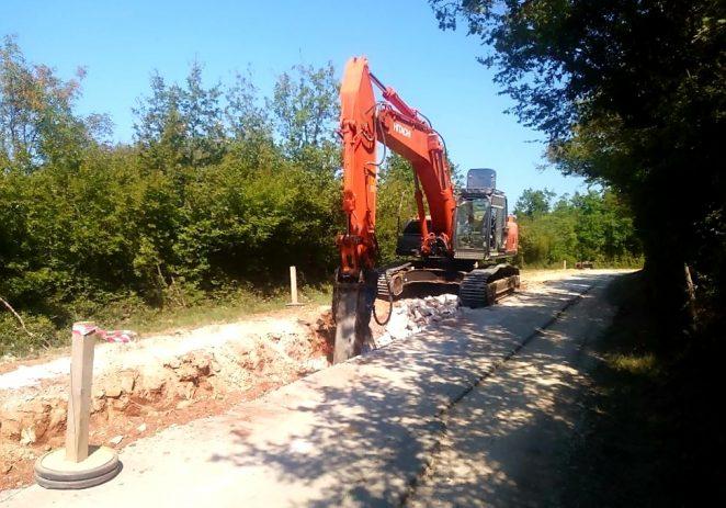 Od ponedjeljka, 2. rujna, nastavljaju se radovi na izgradnji kanalizacijskog kolektora od St. Portun do Antonci