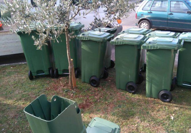 Nastavlja se zamjena/podjela spremnika za komunalni otpad po naseljima Poreštine