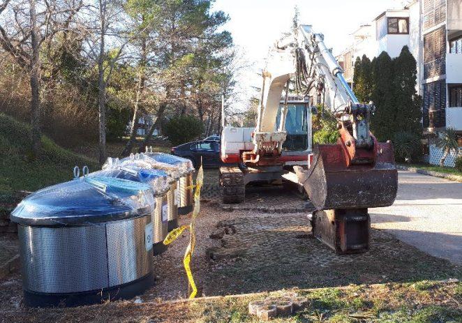 Červar Porat dobiva podzemne spremnike za otpad, uskoro i u ostalim naseljima