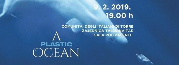 """U subotu u Zajednici Talijana Tar projekcija filma """"Plastični ocean"""""""