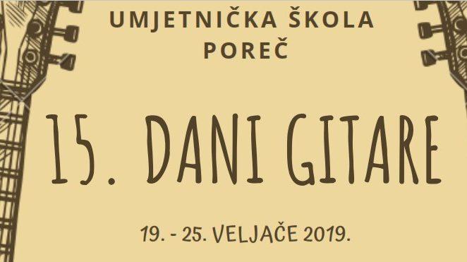 U Poreču se od 19. do 25. veljače održavaju Dani gitare