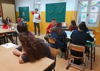 Znanstvene radionice u Talijanskoj osnovnoj školi Bernardo Parentin