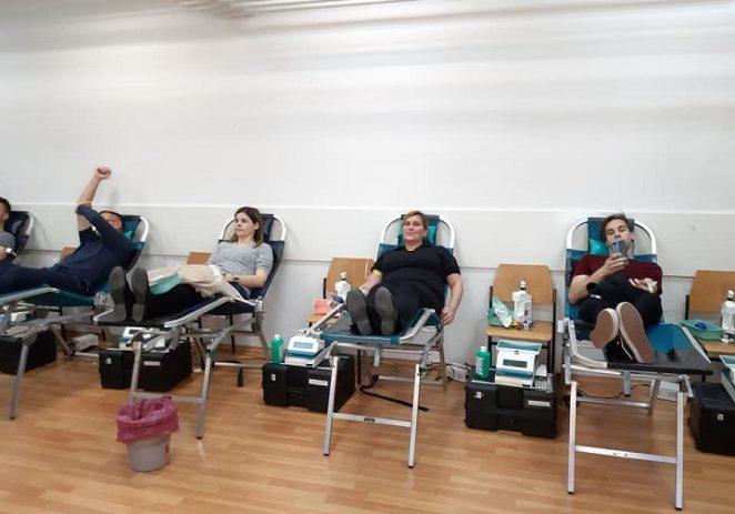 U subotu se na akciju dobrovoljnog darivanja krvi odazvalo 96 davatelja