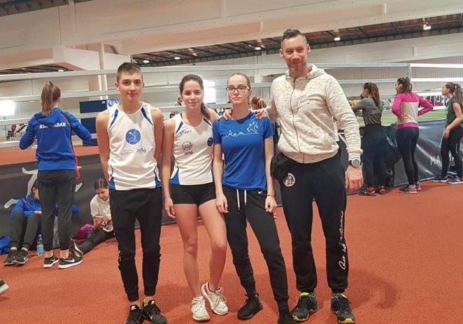 Atletičari Maximvsa na Pojedinačnom prvenstvu Hrvatske u dvorani za kadete, kadetkinje, mlađe kadete i mlađe kadetkinje