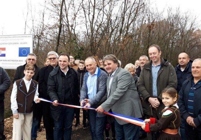 U subotu, 2. veljače i službeno otvorena prometnica Valkarin – Garbina