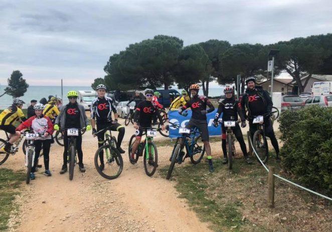VI. kolo GIANT Zimske lige Istre i Kvarnera – XC Novigrad 2019. – Biciklistički klub Poreč nastupio je u Novigradu