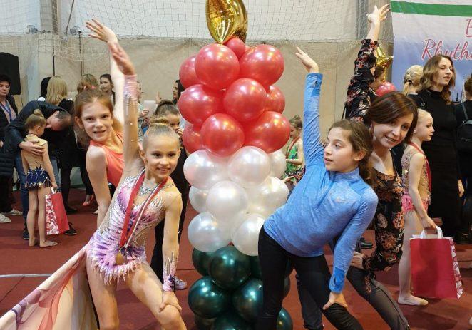 Ritmičarke Funtane i Vrsara odlično nastupile na turniru u Budimpešti