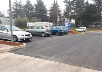 Dovršeni novi parkinzi kraj Obrtničkog doma i Veterinarske bolnice u Poreču