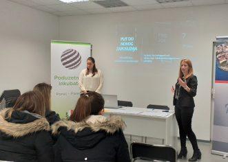 U Poduzetničkom inkubatoru Poreč održano predavanje ˝Put do novog zaposlenja˝