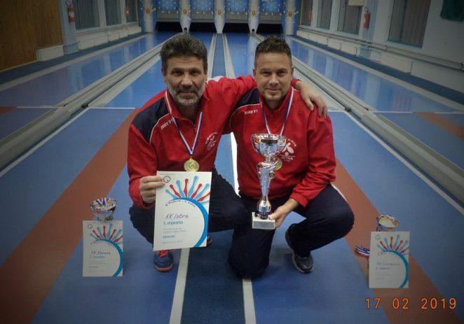 Kuglanje: Dario Prađeno i Nikica Kučan prvaci regije u paru
