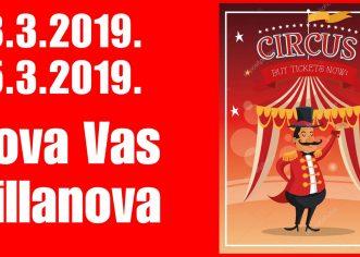 Maškare u Novoj Vasi u nedjelju 3. ožujka i utorak, 5. ožujka