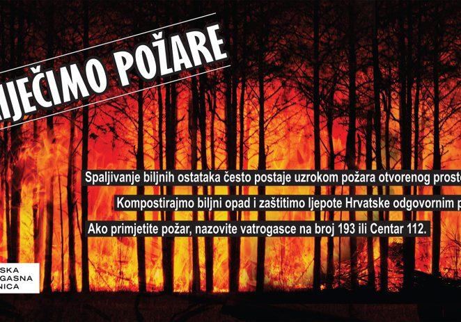 Oprez pri spaljivanju biljnog otpada