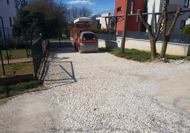 Asfaltiranja u Lindarskoj i Medulinskoj ulici, Grožnjanska dobiva parking