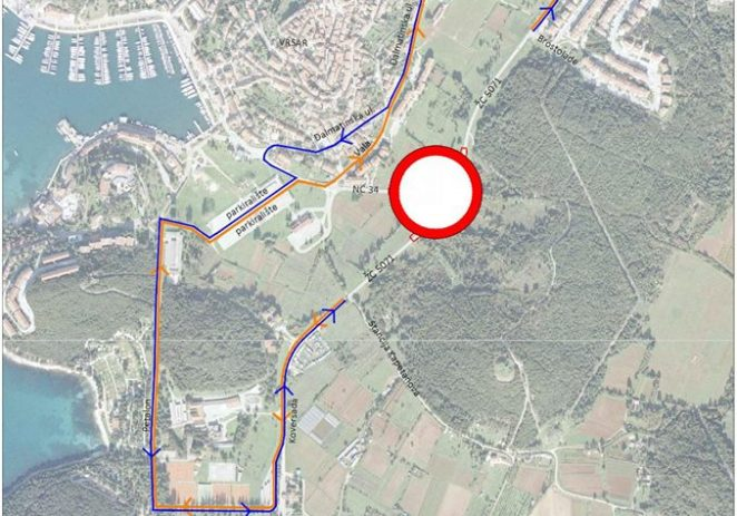Izvanredno održavanje kolnika županijske ceste ŽC 5071 u Vrsaru do 1. lipnja