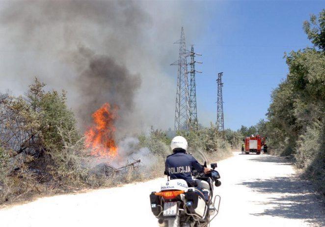 Kaznena prijava zbog izazivanja požara kod Gambetići