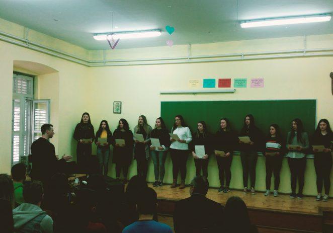 Srednja škola Mate Balote Poreč prošlog je četvrtka bila domaćin županijskog natjecanja iz latinskog i grčkog jezika